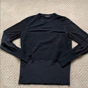 Rag & Bone mixed media sweater